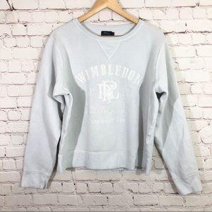 POLO RALPH LAUREN Wimbledon White Sweatshirt